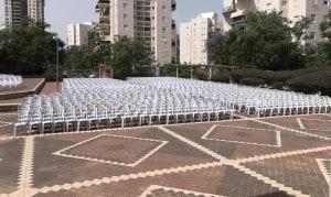 השכרת כסאות פלסטיק לאירועים