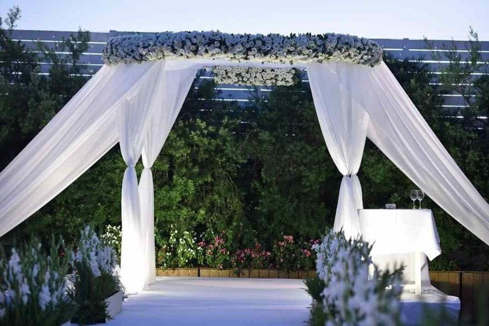 עיצוב חופות לאירועי חתונה